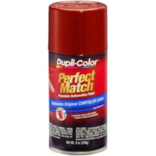 Krylon BCC0424 Perfect Match Automotive Paint, Chrysler Chili Pepper Red, 8 Oz Aerosol Can
