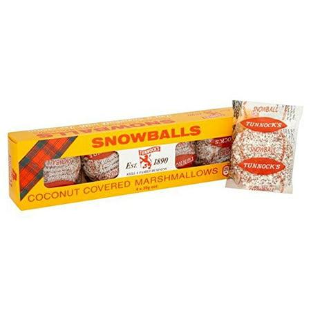 Tunnock's Snowballs 4 x 30g - Pack of - 30g Pack