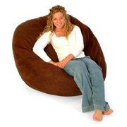 FUF 4 ft. Lounger Bean Bag Chair