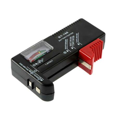 AA/AAA/C/D/9V/1.5V Digital Battery Meter Universal Button Cell Battery Volt Tester Checker BT-168