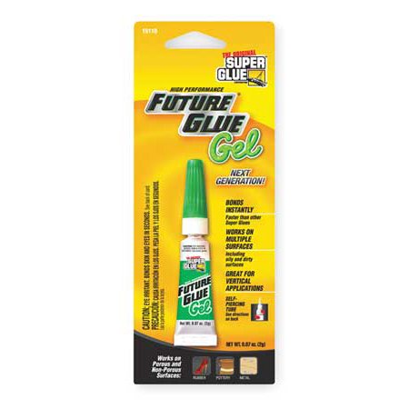 Pacer Tech SGM22-12 Original Super Glue Future Glue Gel Instantly Bonds Metal, Rubber, Most Plastics, Aluminum, Ceramics, China, Wood, Leather,
