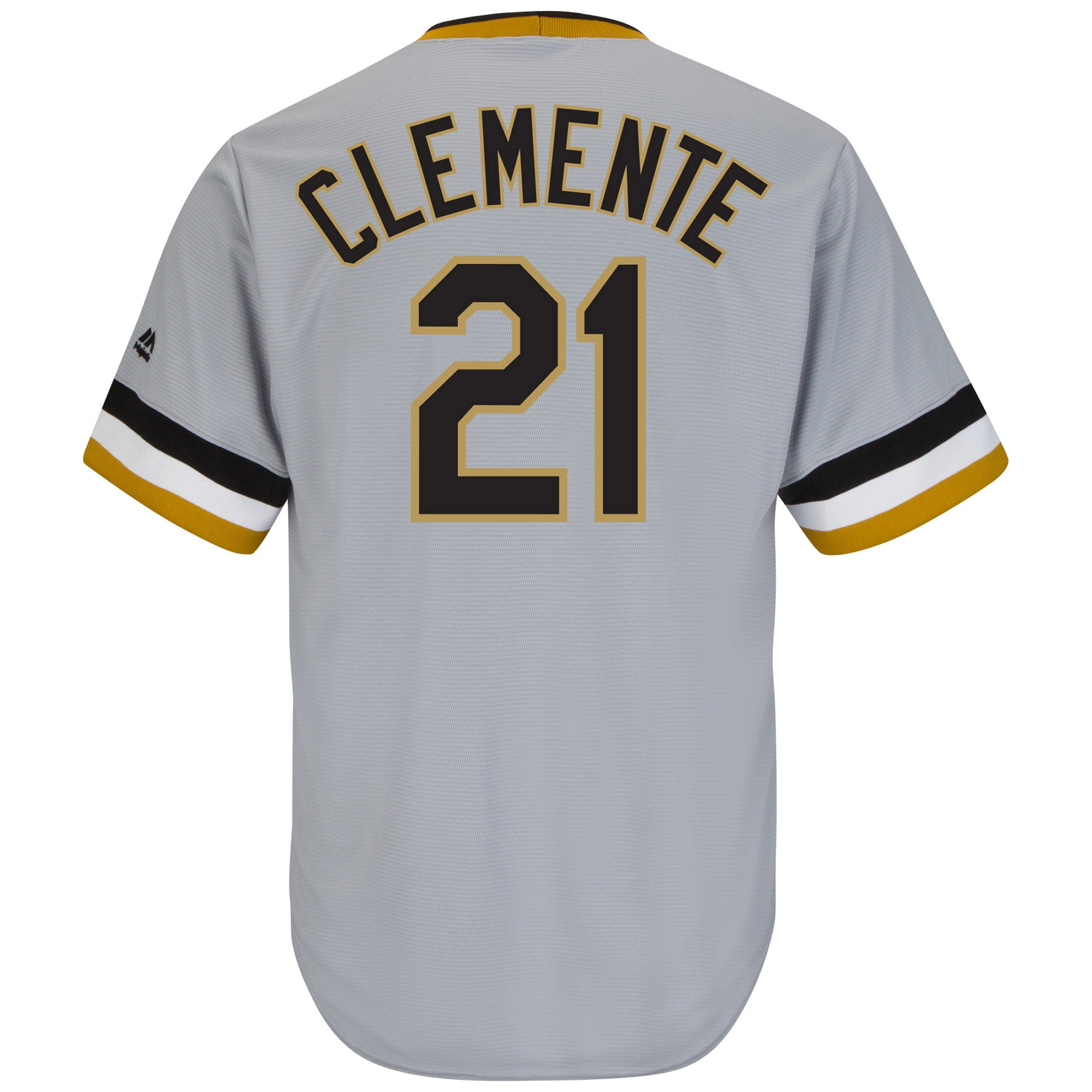 957cba4cf5a Roberto Clemente Pittsburgh Pirates Majestic Cool Base Cooperstown ...