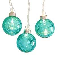 Belham Living String Lights, Mercury Glass Green