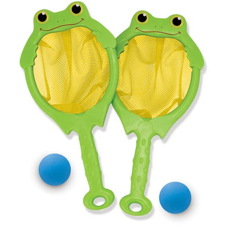 Melissa & Doug Sunny Patch Froggy Toss and Catch Net Game With 2 Balls](Melissa And Doug Basic Skills Board)