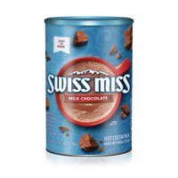 Swiss Miss Milk Chocolate Flavor Hot Cocoa Mix Canister 45.68 oz.