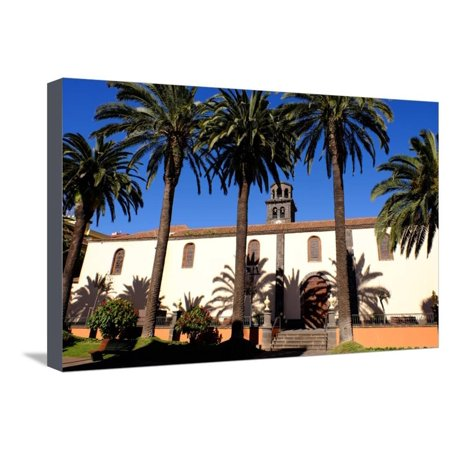 Church of the Immaculate Conception, San Cristobal De La Laguna, Tenerife, Canary Islands, Spain Stretched Canvas Print Wall Art By Carlo (Church Of The Immaculate Conception San Diego)