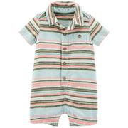Carter's Baby Boys' Striped Romper