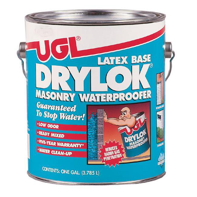 United Gilsonite 1 Gallon Gray Latex Base Drylok Masonry Waterproofer 27613 - Pack of 2