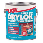 United Gilsonite 1 Gallon Gray Latex Base Drylok Masonry Waterproofer 27613 - Pack of 2