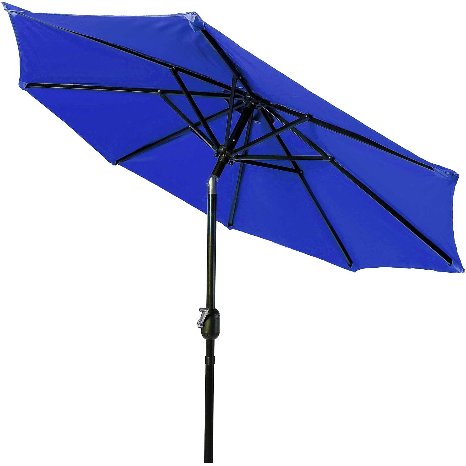 Tilt Crank Patio Umbrella, 10u0027, By Trademark Innovations   Walmart.com