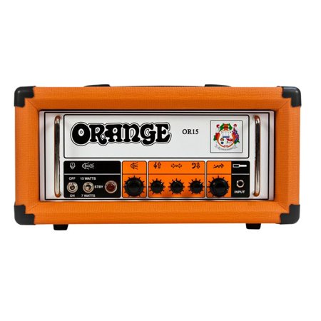 Tube Guitar Head (Orange Amplifiers OR Series OR15H 15W Compact Tube Guitar Amp Head)
