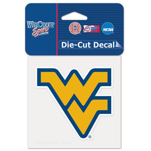 NCAA - West Virginia Mountaineers 4x4 Die Cut Decal