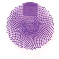 Genuine Joe, GJO85156, Eclipse Anti-Splash Deodorizing Urinal Screen, 12 / Dozen, Purple