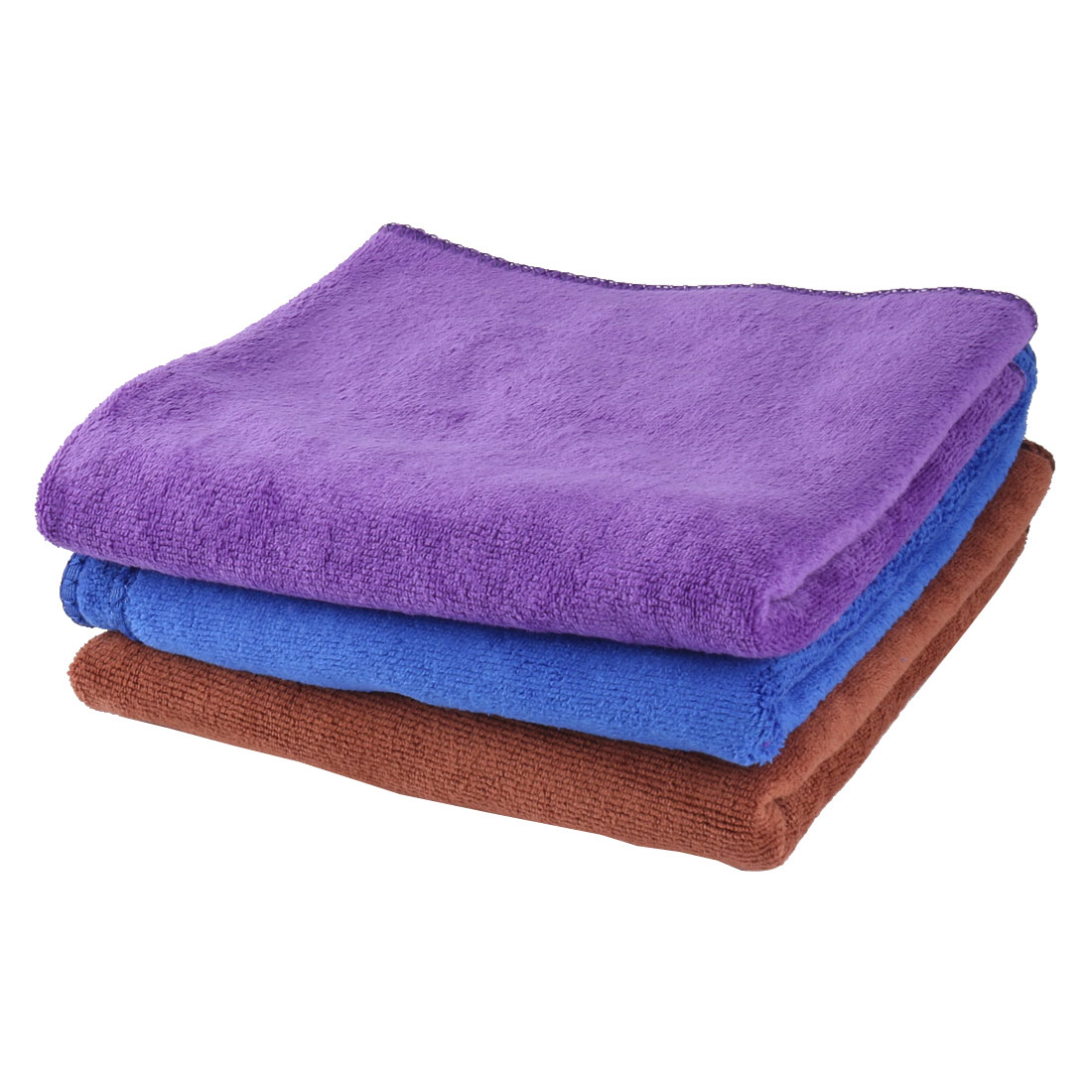Home Microfiber Water Absorbent Drying Car Washing Cloth Cleaning Towel 3pcs