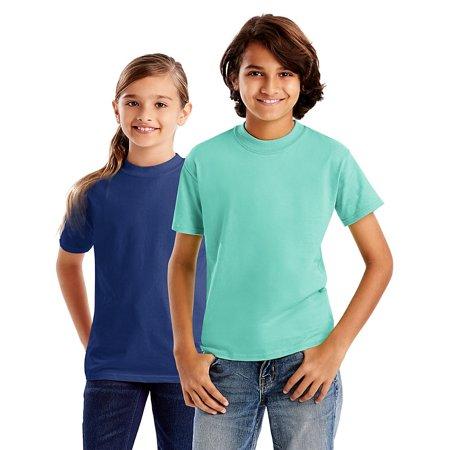 a23a79d4 Hanes - Hanes Kids' Beefy-T T-Shirt - 5380 - Walmart.com