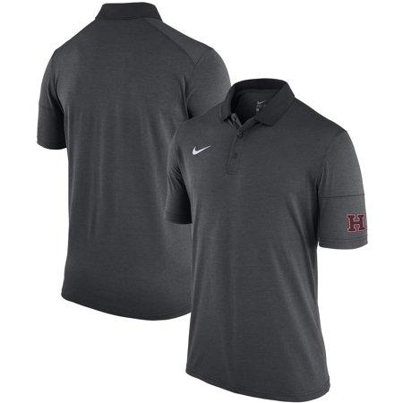 Harvard Crimson Nike Performance Polo - Anthracite
