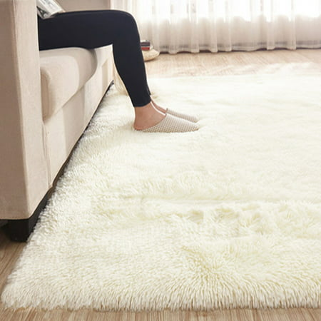 13 Colors 4 Sizes Modern Soft Fluffy Floor Rug Anti-skid Shag Shaggy Area Rug Home Bedroom Living Room Carpet Child Play Mat Yoga