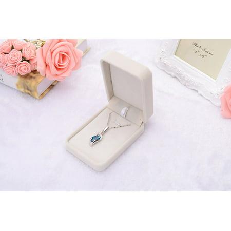 Huppin's New Velvet Presentation Gift Jewellery Ring Necklace Bracelet Display Box Case E (Presentation Box Display)