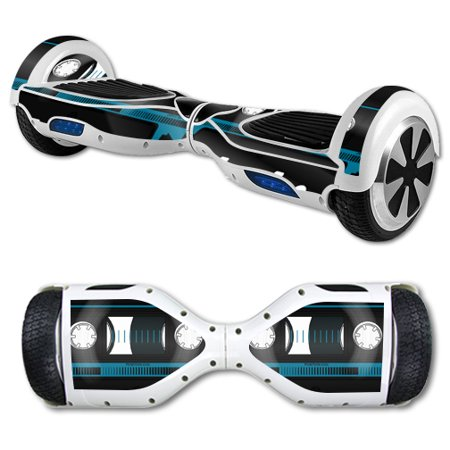70s Sheer - MightySkins Protective Vinyl Skin Decal for Hover Board Self Balancing Scooter mini 2 wheel x1 razor wrap cover sticker Cassette Tape
