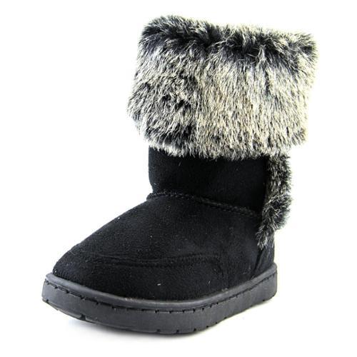 Rampage Girls Lil Ashlee Toddler US 10 Black Winter Boot
