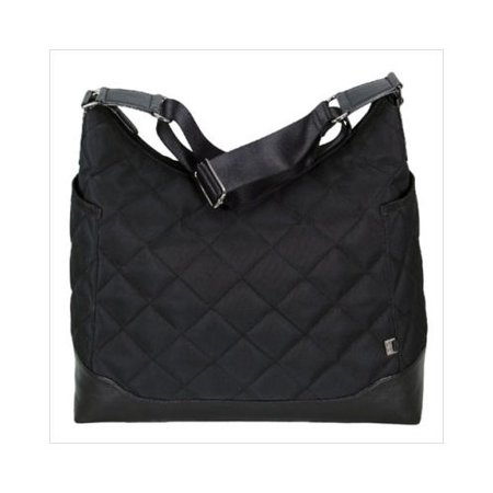 oioi black quilted hobo diaper bag. Black Bedroom Furniture Sets. Home Design Ideas