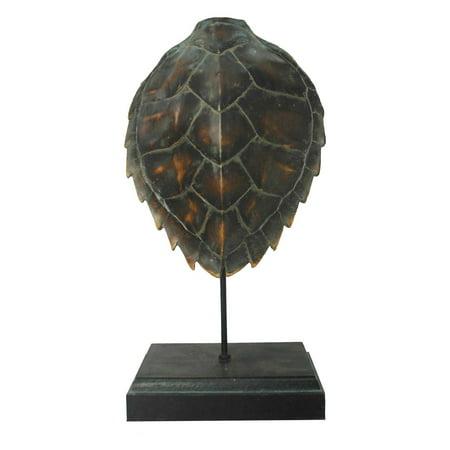 CDI International Furniture Decorative Turtle Shell Sculpture