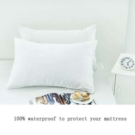 SWEETLIFE 40 Pcslot Terry Waterproof Dust Mite Bacteria Allergy Gorgeous Dust Mite Pillow Covers Walmart