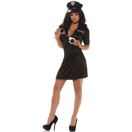 Pull Over Police Women's Plus Size Adult Halloween Costume, Women's Plus
