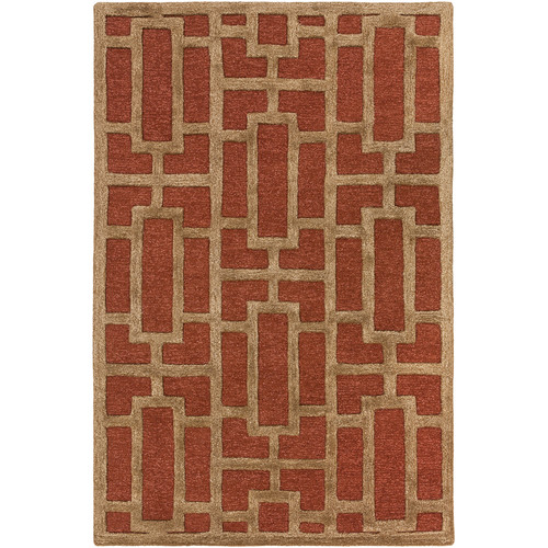 Artistic Weavers Arise Addison Hand-Tufted Rust Area Rug
