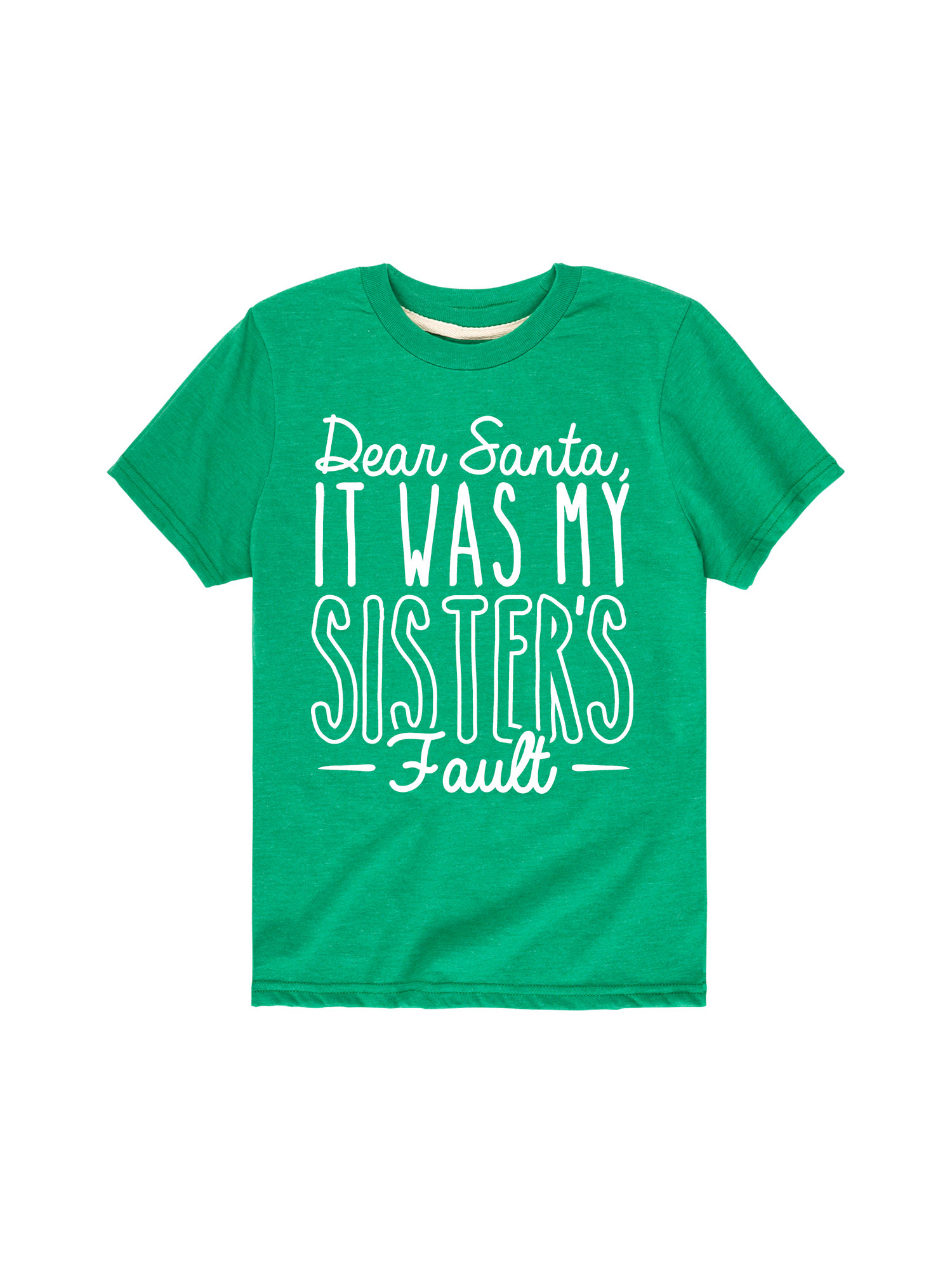 It Was My Sisters Fault  - Toddler Short Sleeve Tee