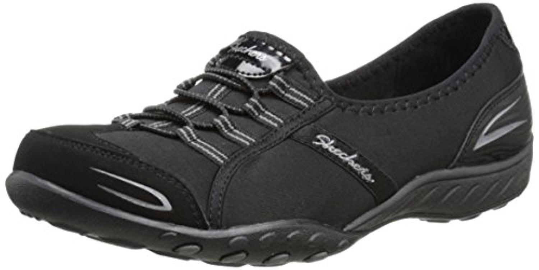 22468 Black Skechers Shoes New Memory Foam Women's Comfort Sporty Casual Slip On 22468BBK by Skechers