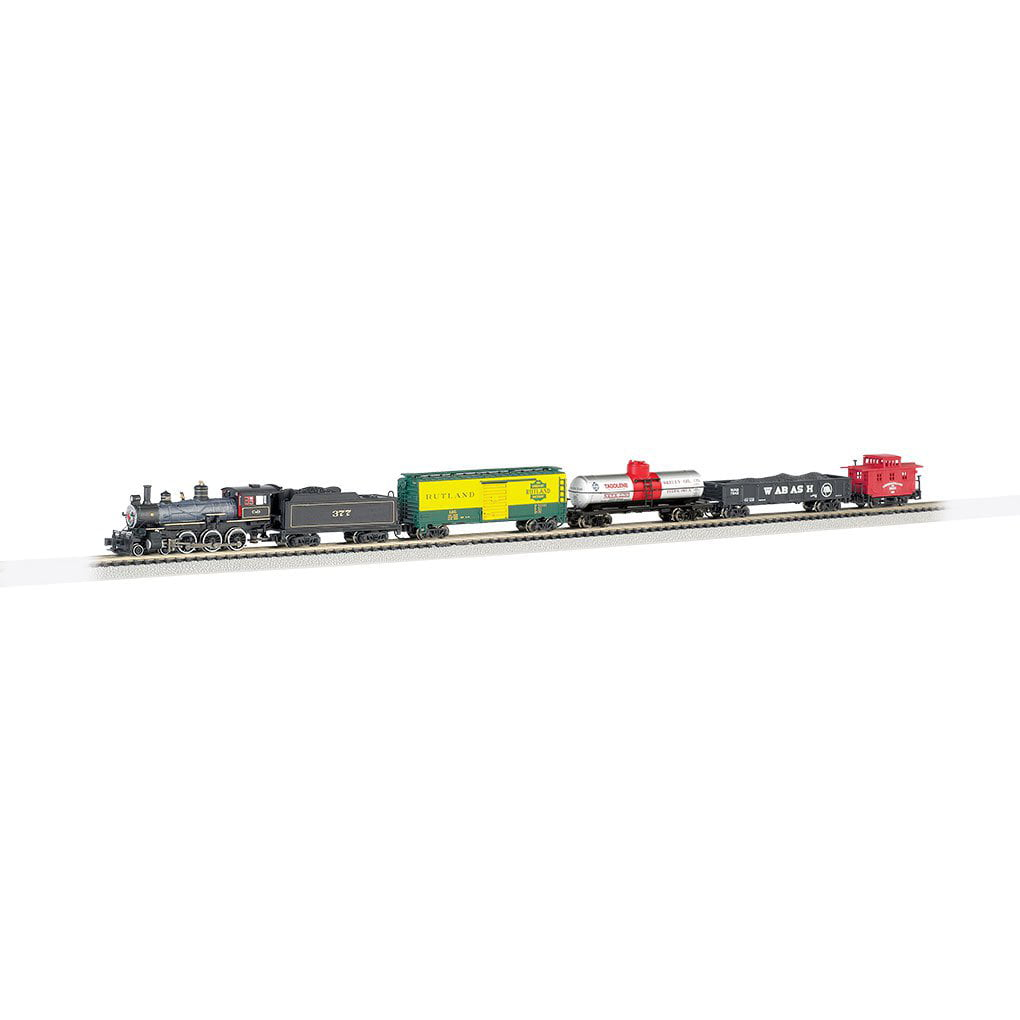 Bachmann Trains Trailblazer, N Scale Ready-to-Run Electric Train Set by Bachmann Trains