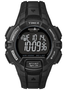 Men's Ironman Rugged 30 Full-Size Watch, Black Resin Strap