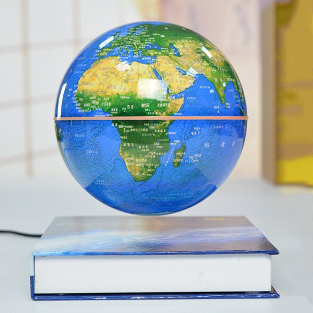 6 Magnetic Rotating Globe Anti Gravity Floating Levitating Earth 360 Degree For Desktop Office Home Decor