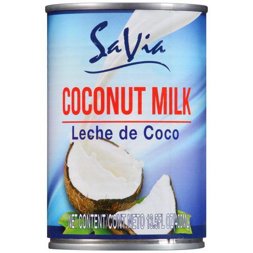 (3 Pack) Savia Coconut Milk, 13.5 fl oz