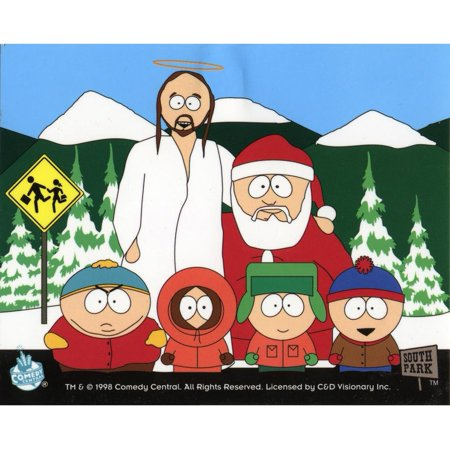 South Park Christmas.South Park Christmas Crew Decal