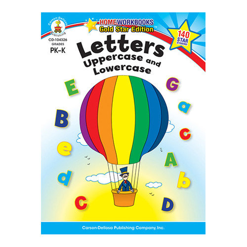 Frank Schaffer Publications/Carson Dellosa Publications Uppercase and Lowercase Home Letters (Set of 2)