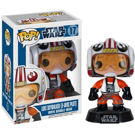 Funko Pop! Lucas Films Star Wars Luke Skywalker X-Wing Pilot Vinyl Bobble Head