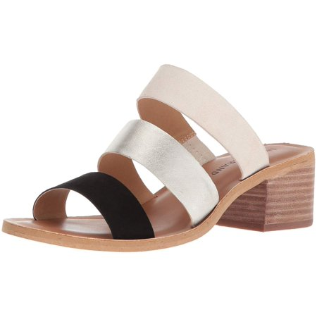 Lucky Brand Womens Rileigh2 Leather Open Toe Casual Strappy Sandals