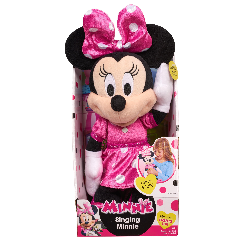 Minnie Happy Helpers Singing Minnie Plush- Minnie by Just Play