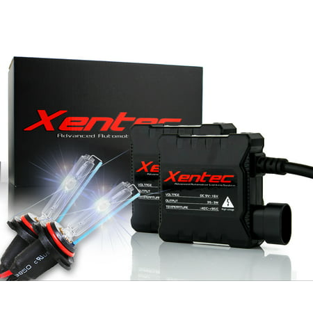 Xentec 8000K Xenon HID Kit for BMW 320i 1992-1995 Low Beam Headlight 9006 Super Slim Digital HID Conversion Lights