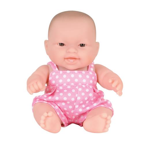 """Lots To Love Baby 8"""" Doll (Caucasian) Designed by Berenguer"""