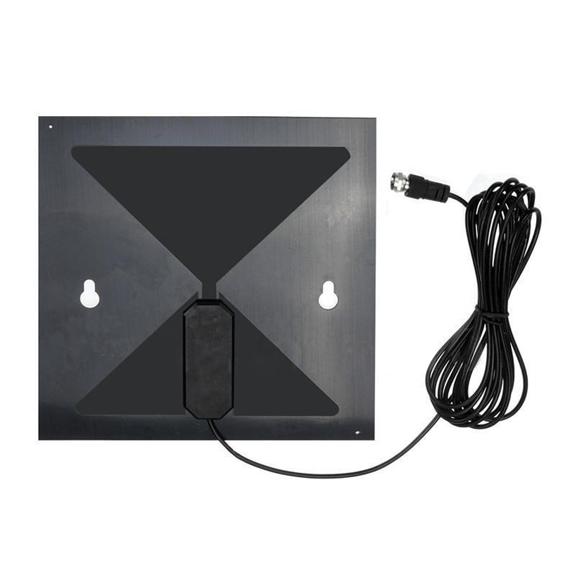 SODIAL Clear TV HD Digital Antenna As Seen on TV No More Cable Bills New Black by SODIAL
