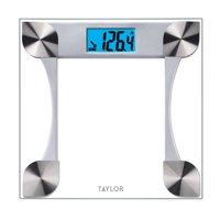 Taylor 440 lb Digital Glass Scale with Weight Tracking