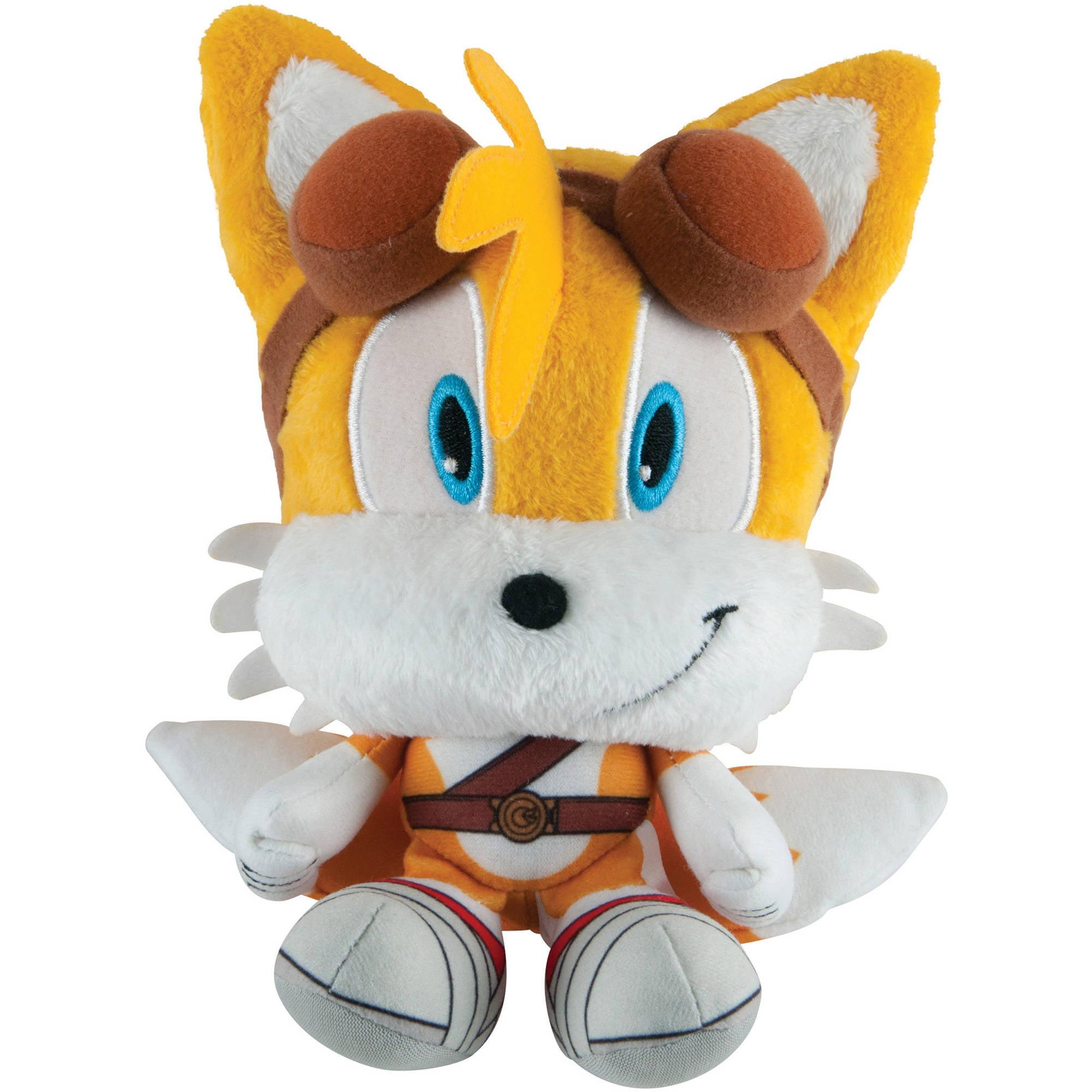 TOMY Sonic Boom Head Plush, Tails