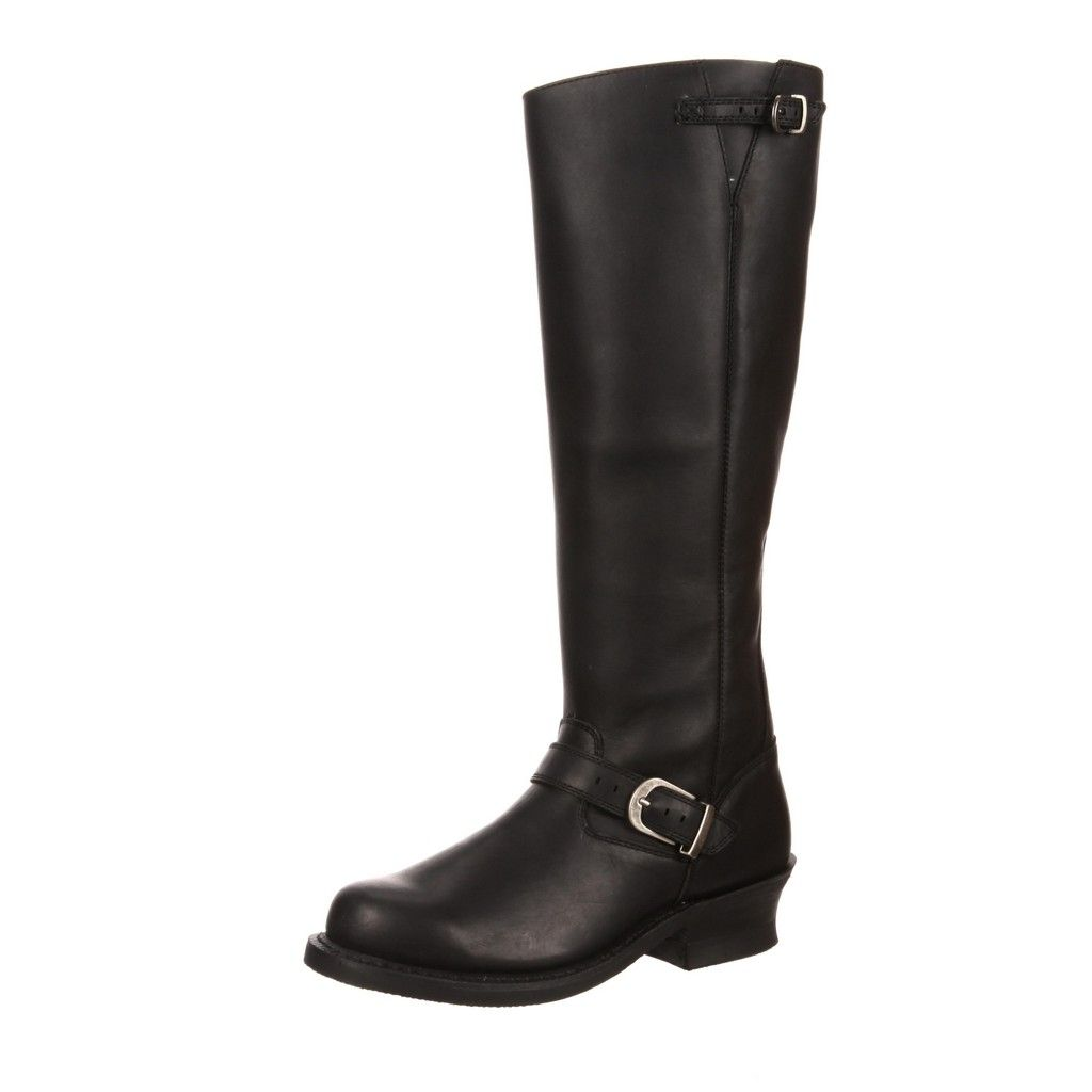 "Durango Fashion Boots Womens 16"" Soho Engineer Rocker Black DCRD156 by Durango"