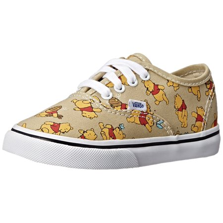 Vans Kids Disney Authentic Skate Shoes Winnie the Pooh - Vans Disney Kids