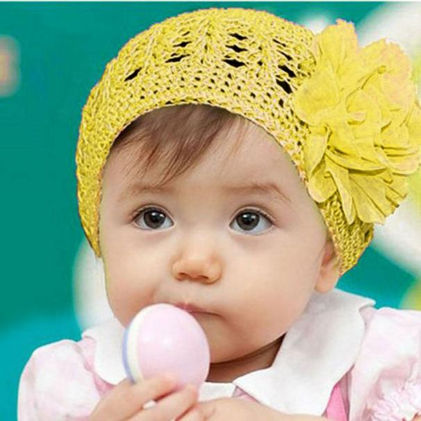 Iuhan Flower Toddlers Infant Baby Girl Hair Band Headband Headwear Hat YE
