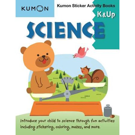 Science K & Up Kumon Sticker Activity Book (Paperback) (Science Activities For Preschoolers About Halloween)