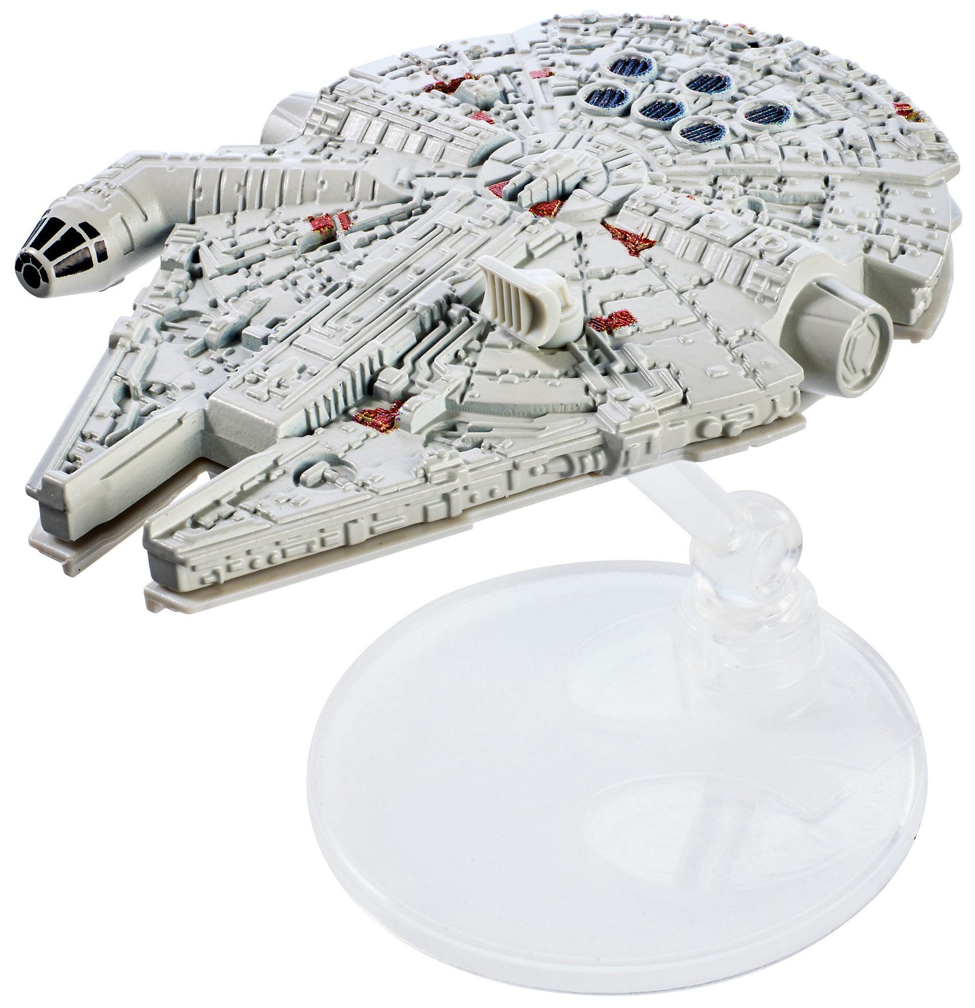 Hot Wheels Star Wars: The Last Jedi Millennium Falcon, Starship by Mattel
